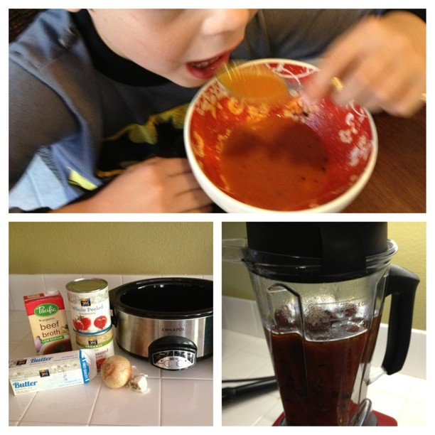 Tomato Soup Crock Pot Recipe