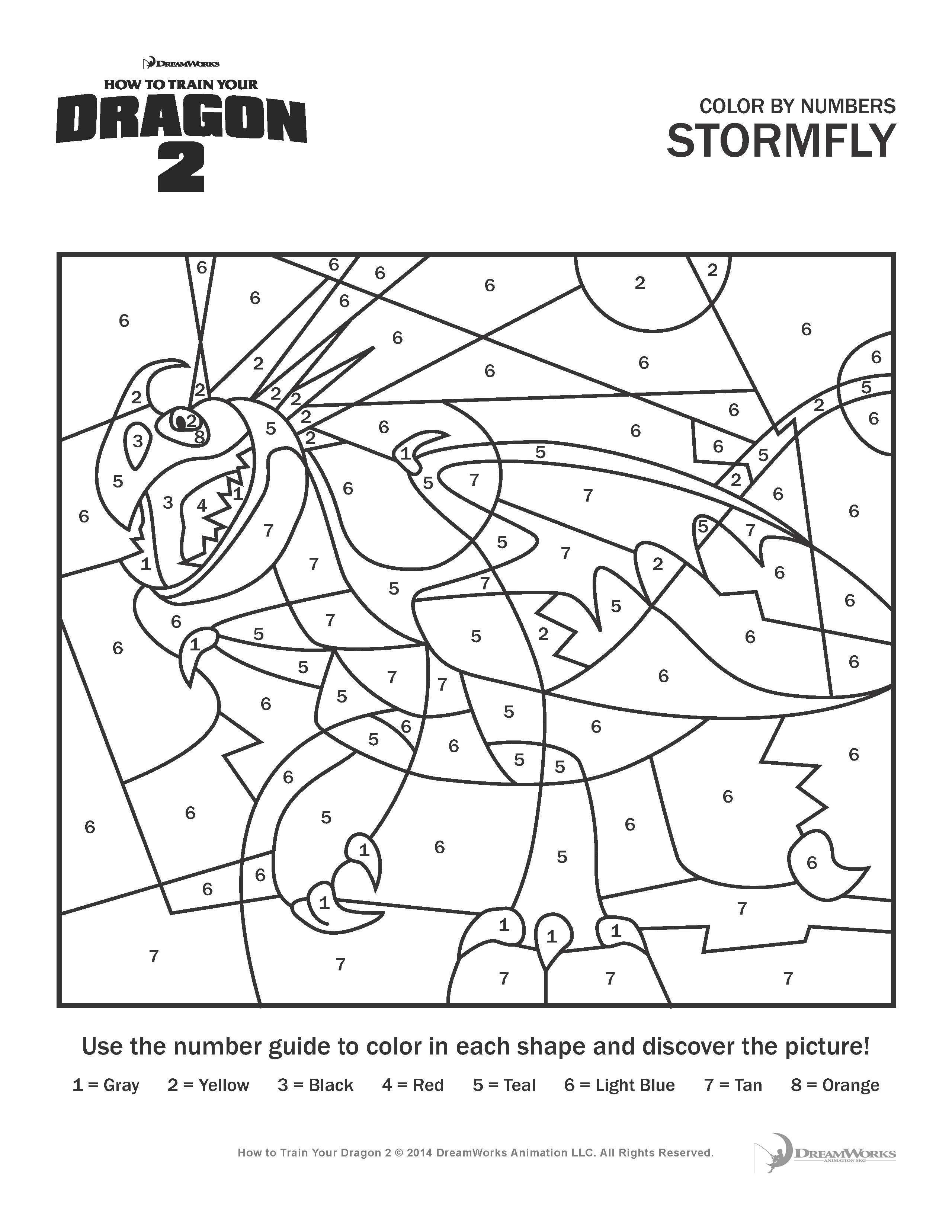 How to train your dragon 2 coloring pages and activity sheets for Free printable coloring pages of dragons