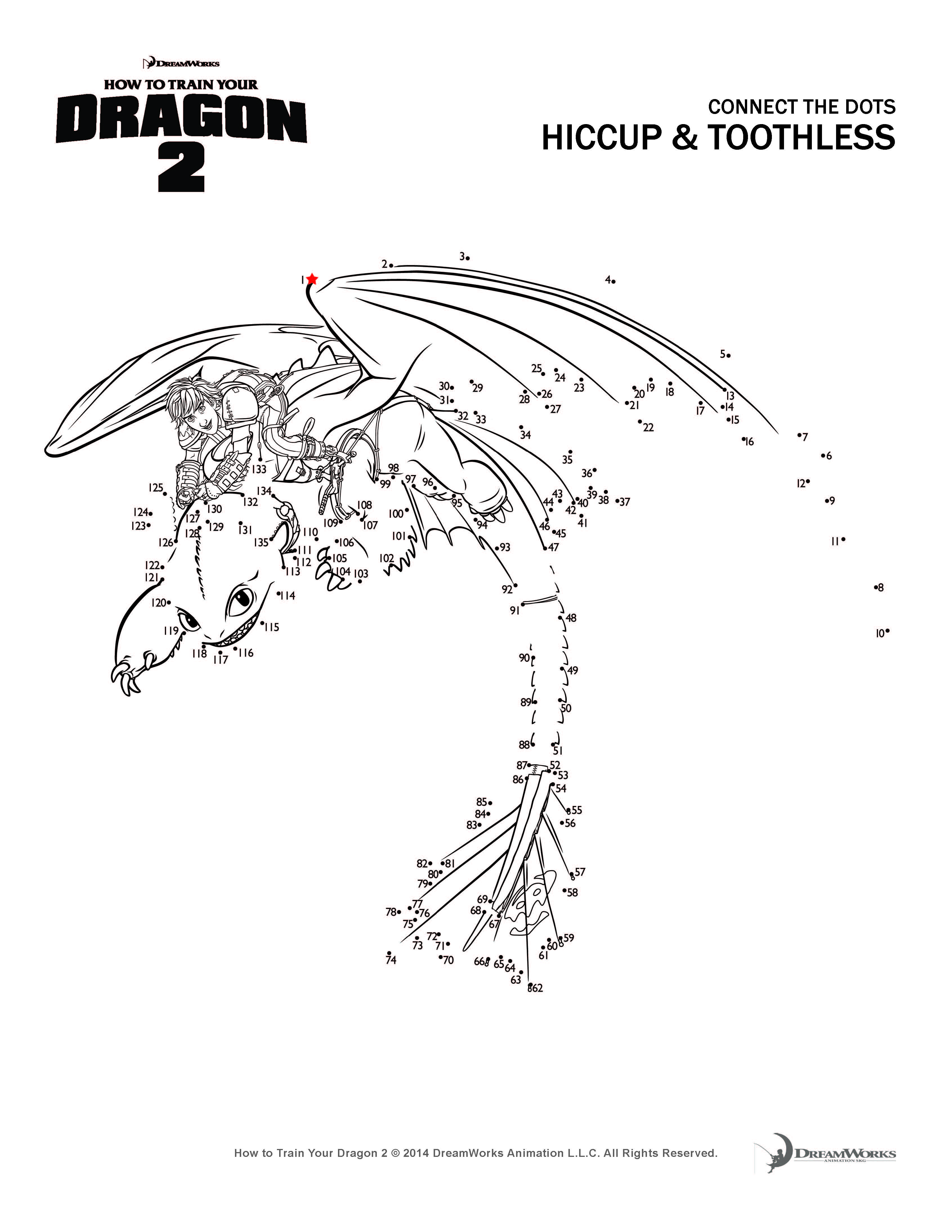 How To Train Your Dragon 2 Coloring Pages And Activity Sheets Toothless The Coloring Pages