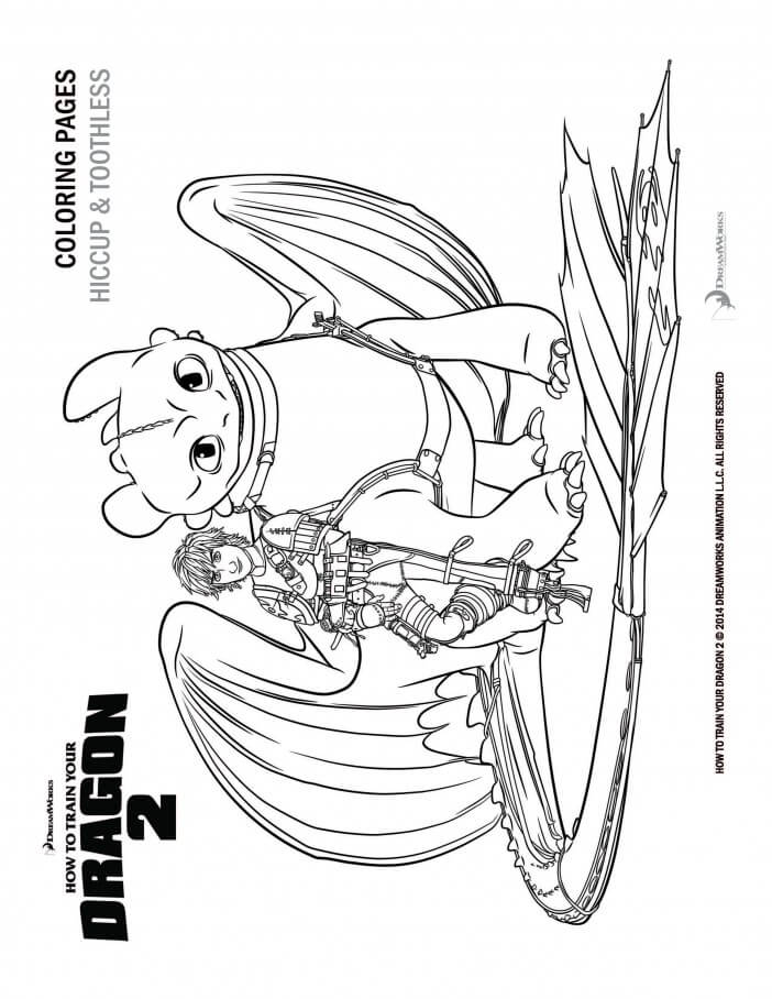 astrids dragon coloring pages - photo#24