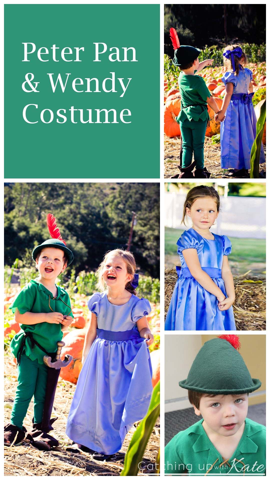 Home 187 costumes 187 peter pan and wendy costumes boy amp girl twin