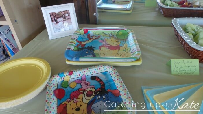 winnie the pooh party stuff