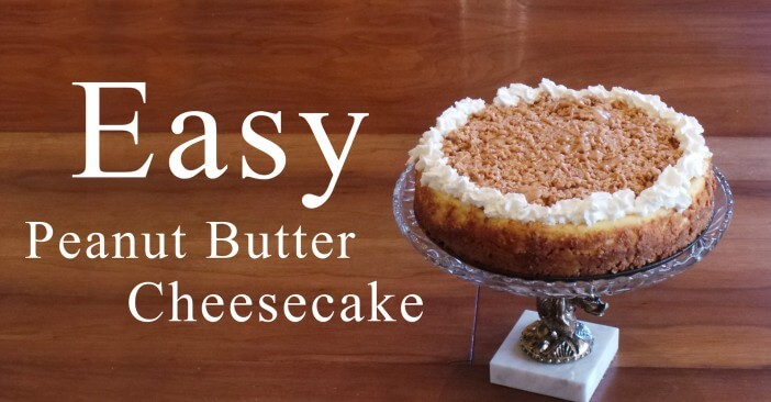 Home » Desserts » Easy Peanut Butter Cheesecake & Graham Cracker ...