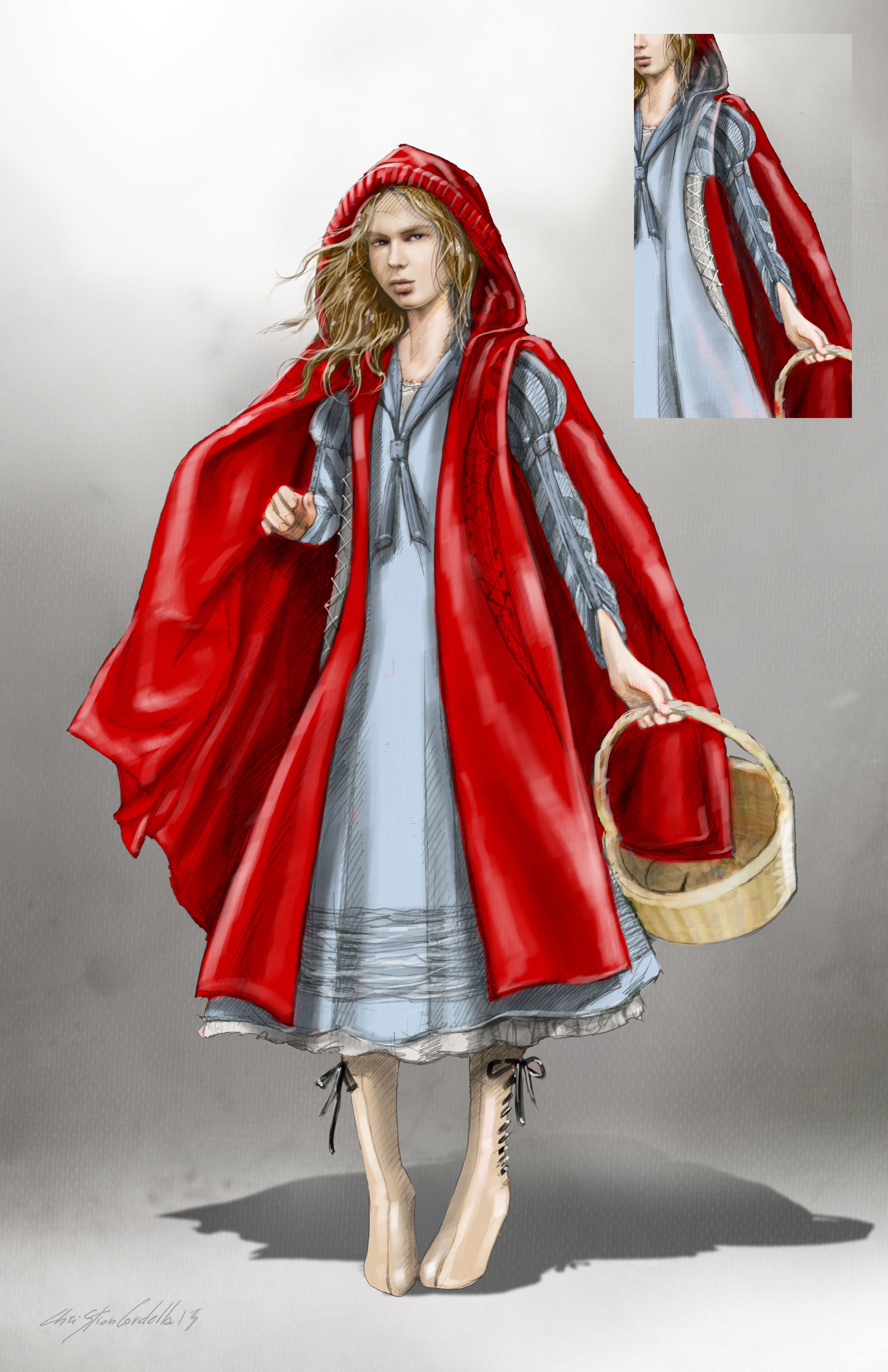 Concept Art And Interview With Costume Designer Of Into