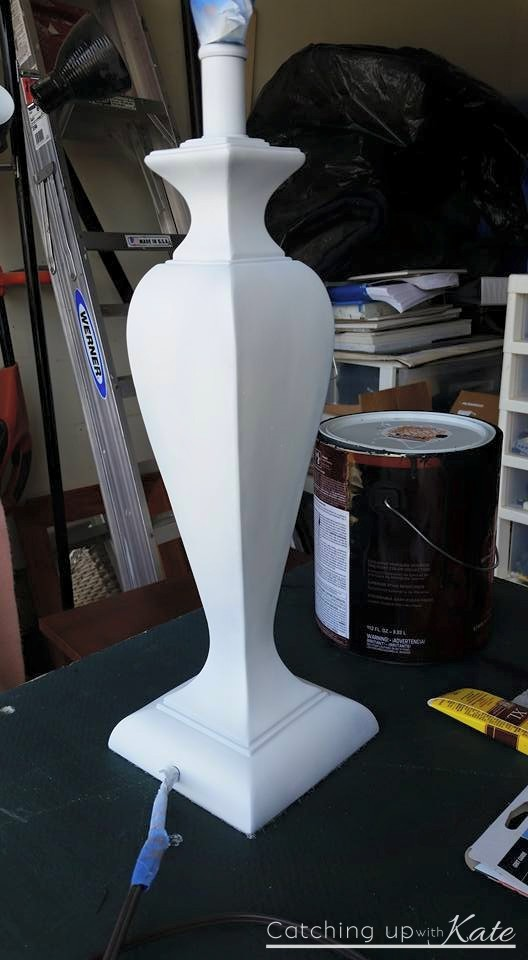 how-to-paint-a-lamp