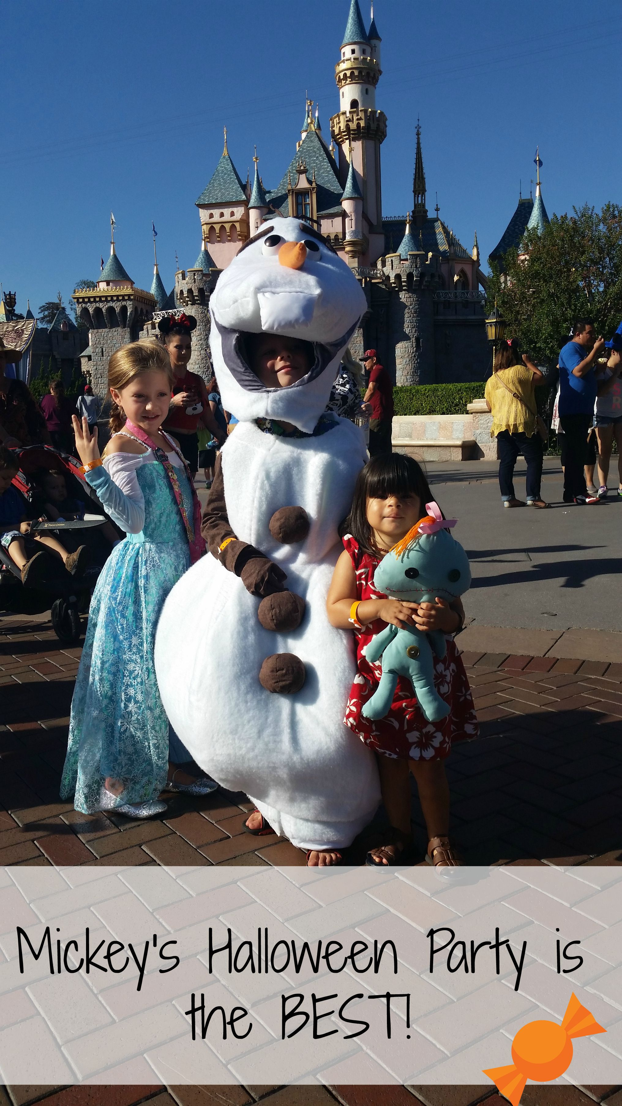 Mickey's Halloween Party dates for 2017 at Disneyland!
