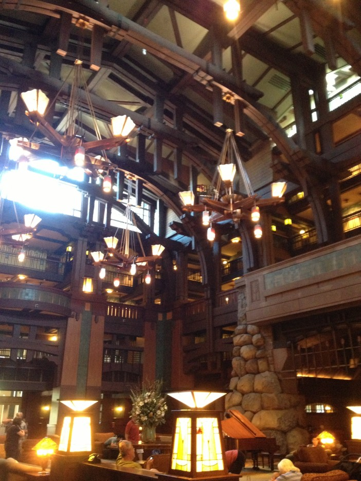The Grand Californian Lobby