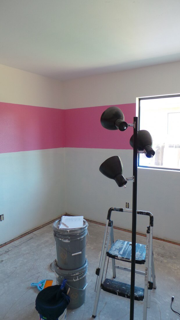 minnie mouse room paint