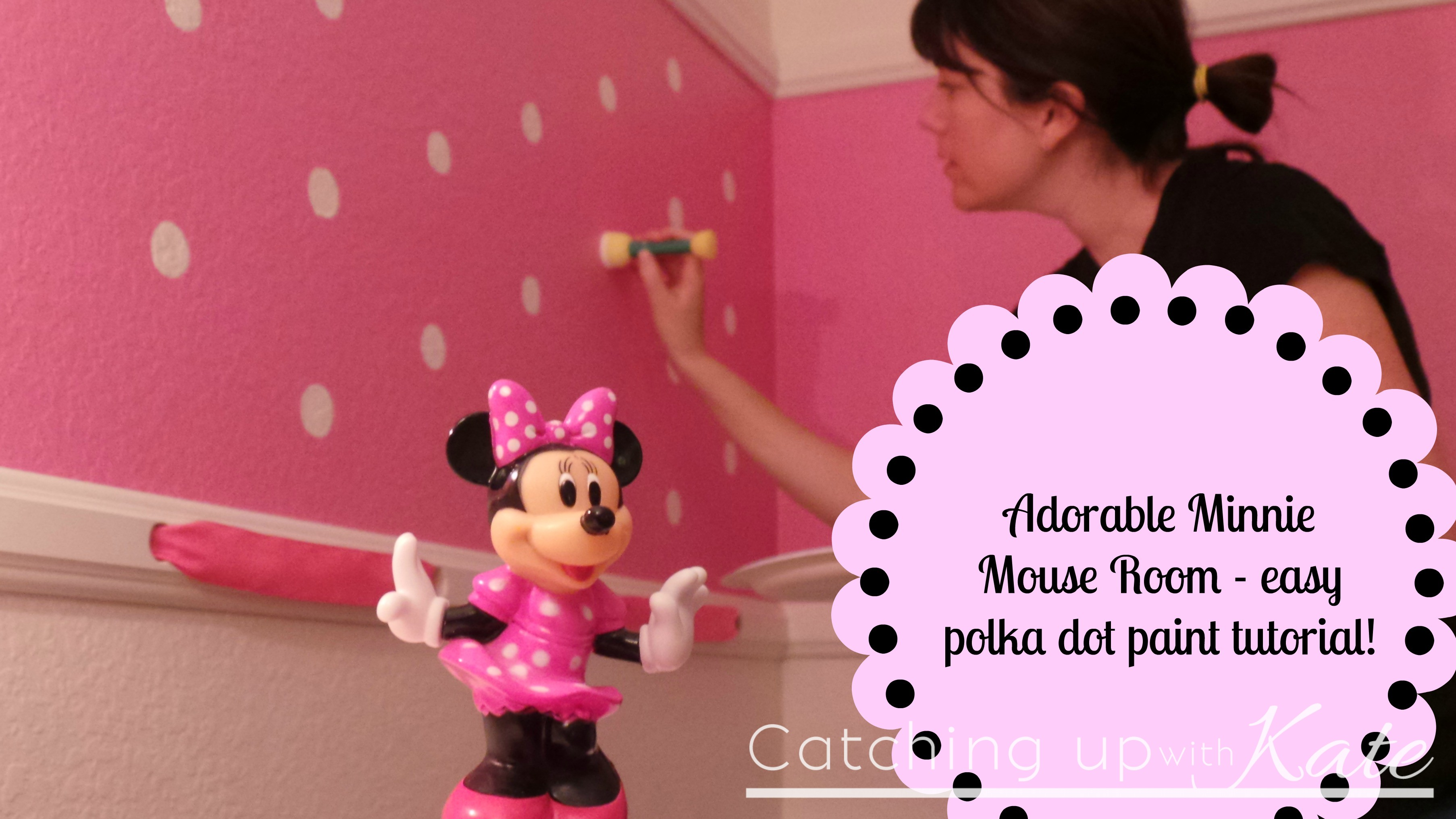 Minnie Mouse Room Decor Kids