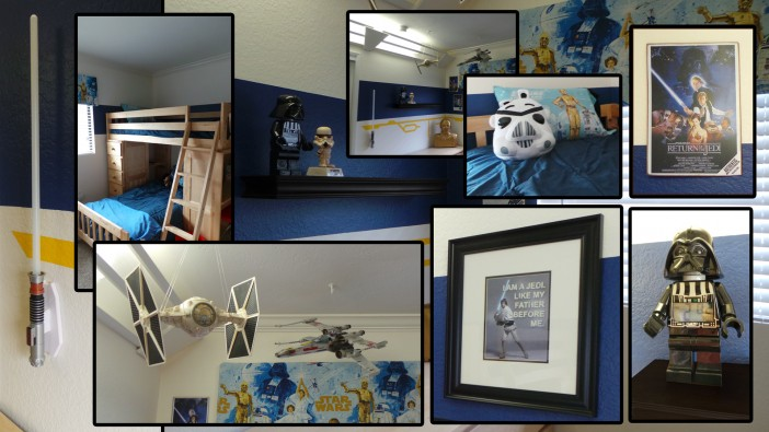 Star Wars Themed Boys Room