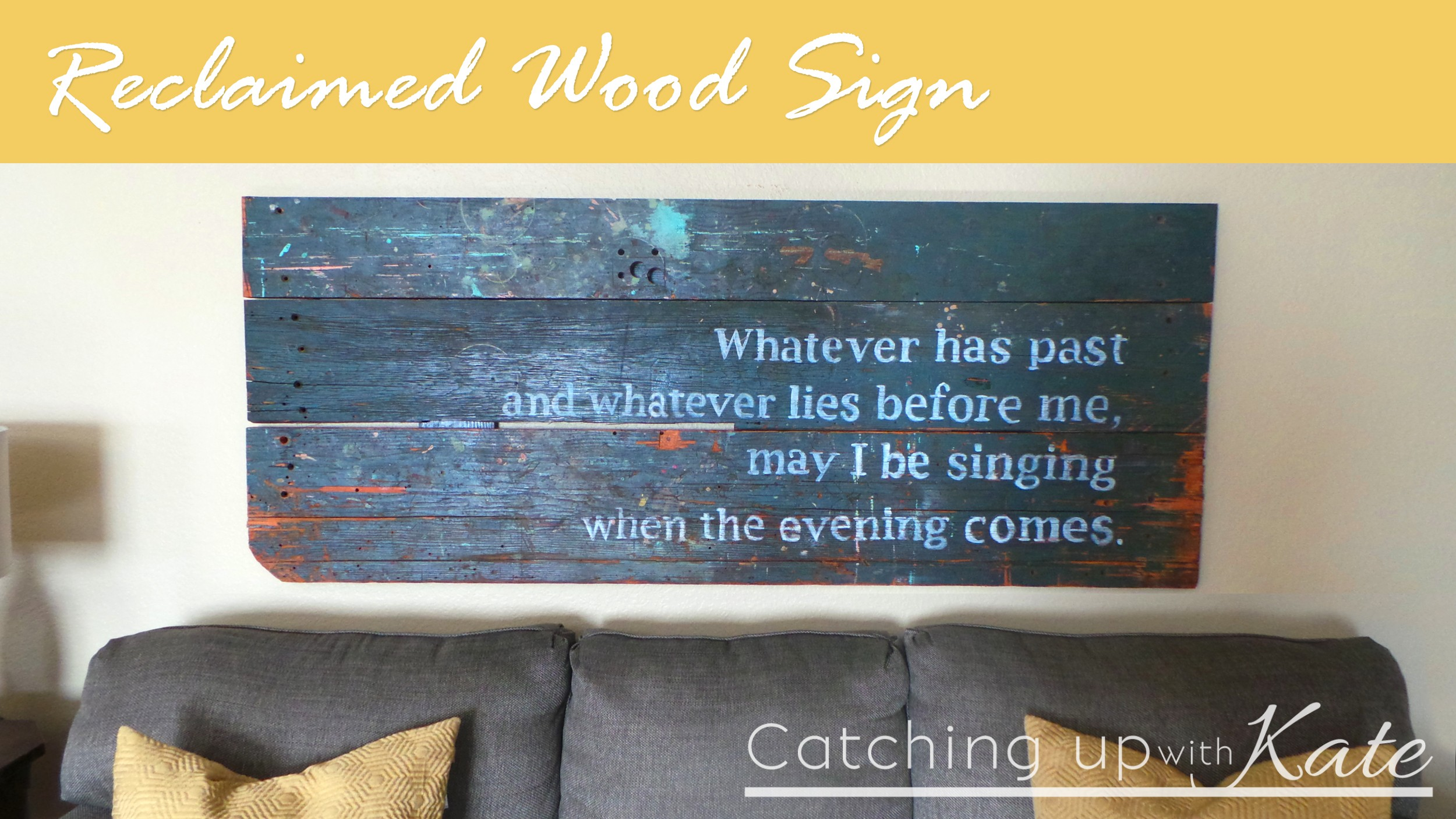 Reclaimed wood sign diy decor Where can i buy reclaimed wood near me