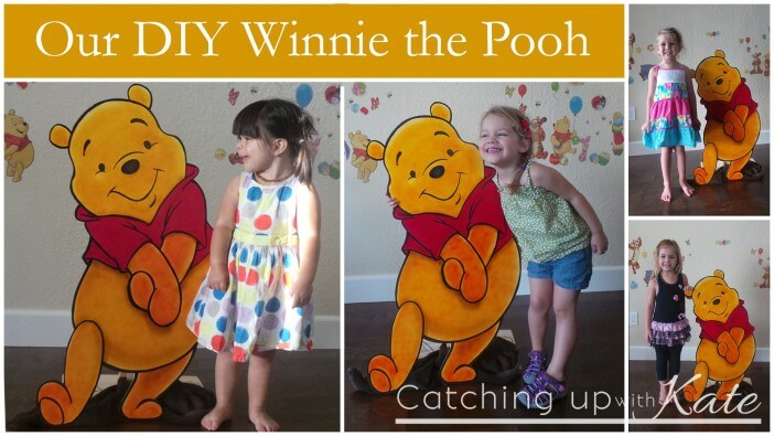 pooh bear collage