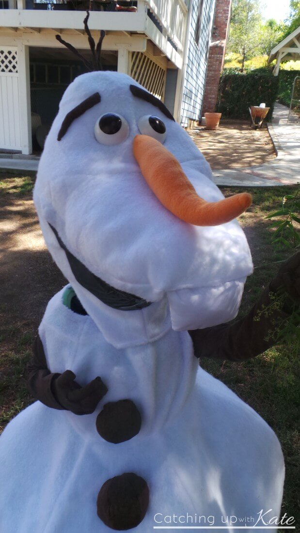 olaf close up