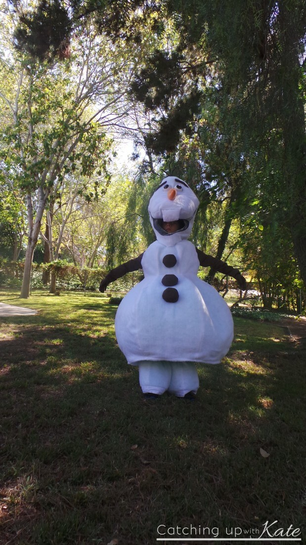 awesome olaf costume