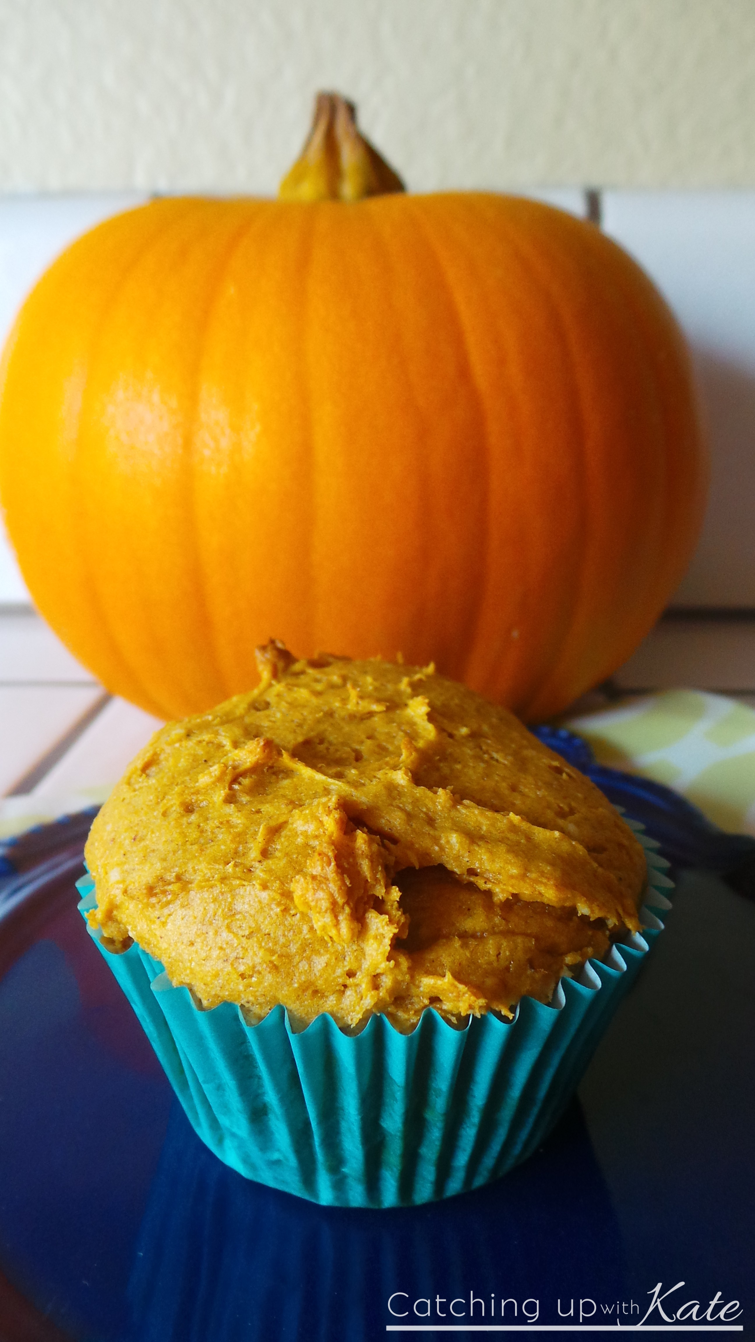 Yellow Cake Mix And Can Of Pumpkin Muffins